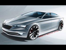 Ver foto 1 de Skoda VisionC Design Study 2014