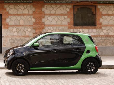 Resultado de imagen de smart for four electrico