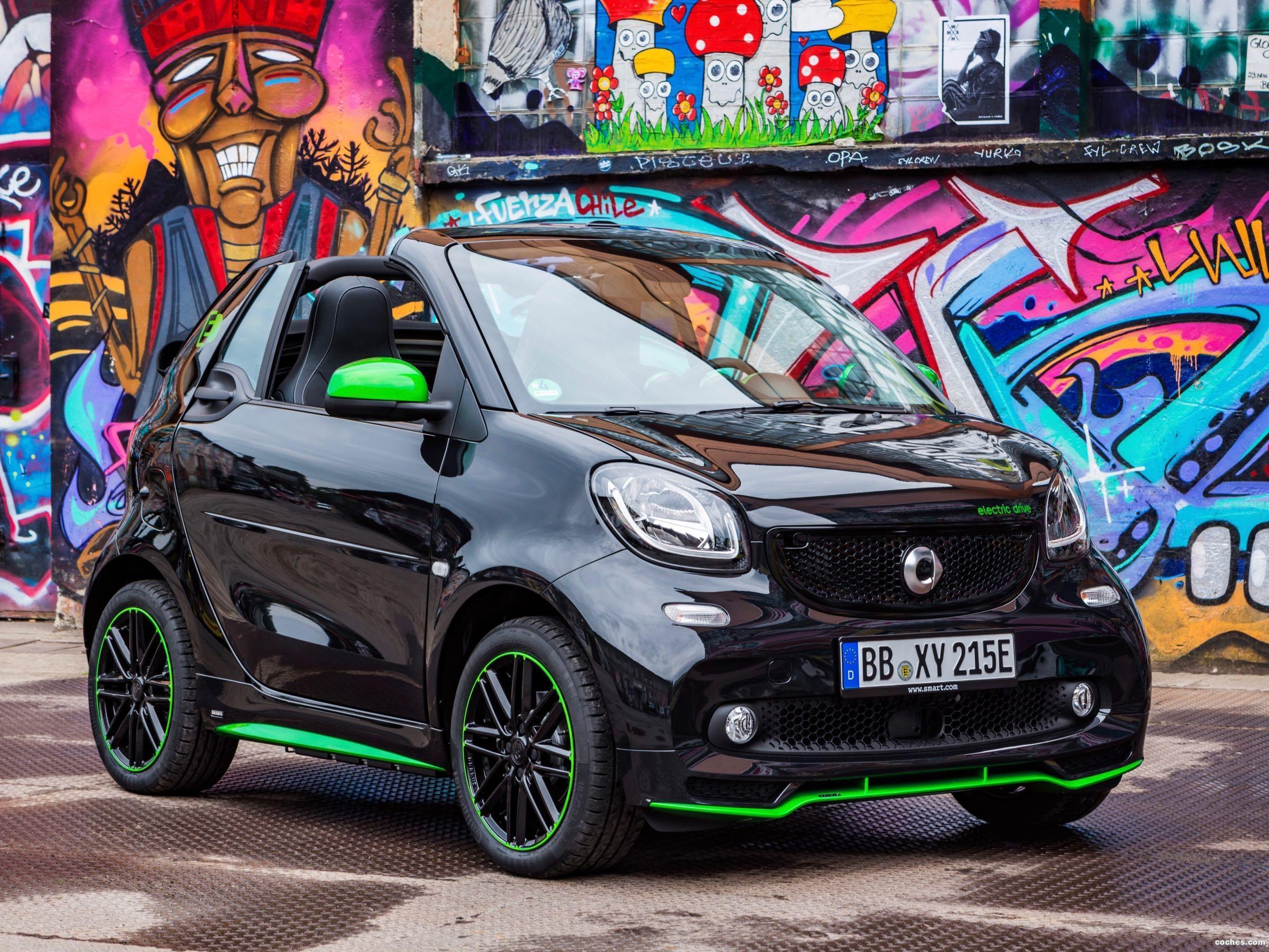 Foto 0 de Smart fortwo cabrio electric drive 2017