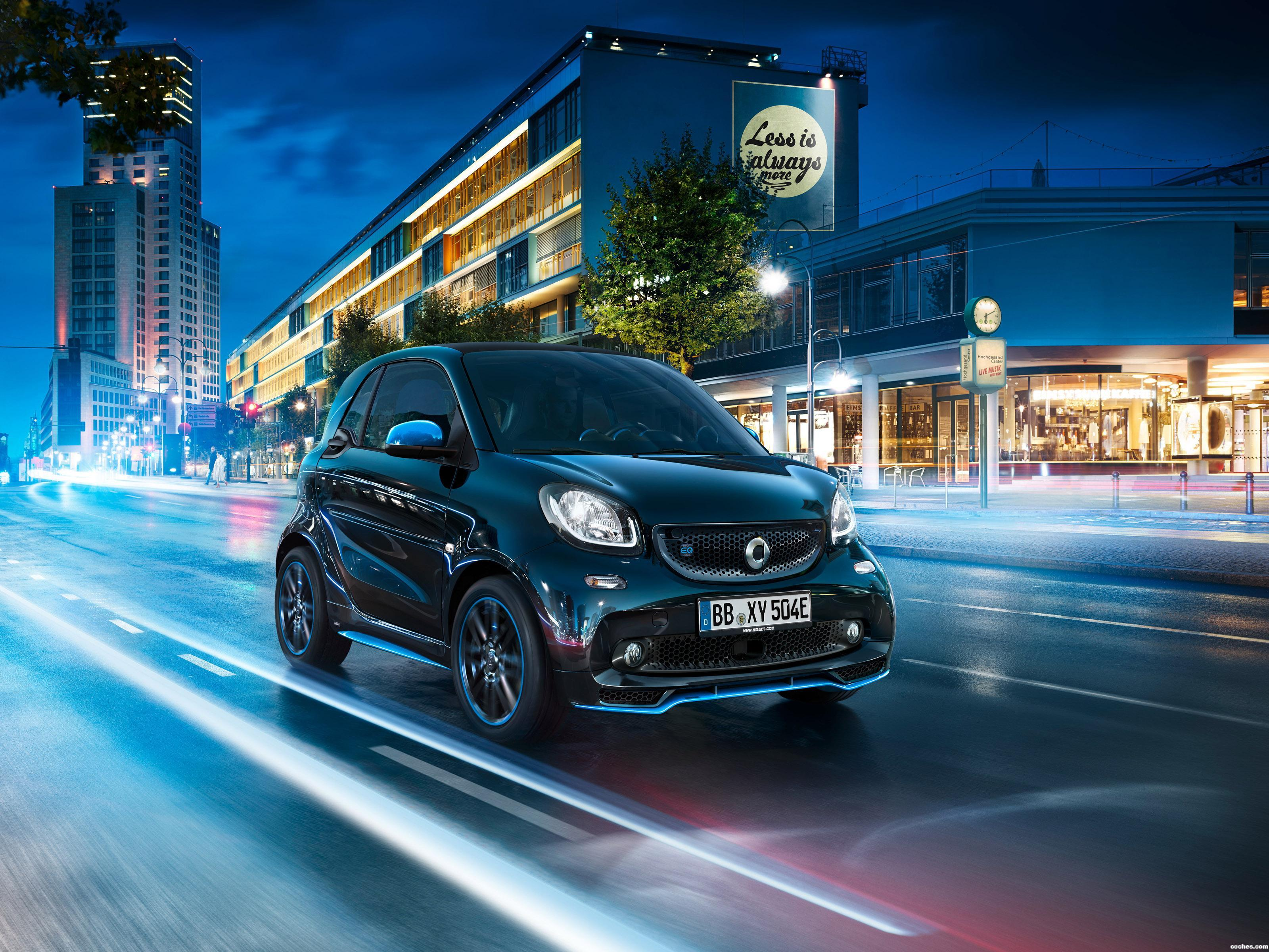 Foto 2 de Smart ForTwo EQ Edition Nightsky Coupe  2018