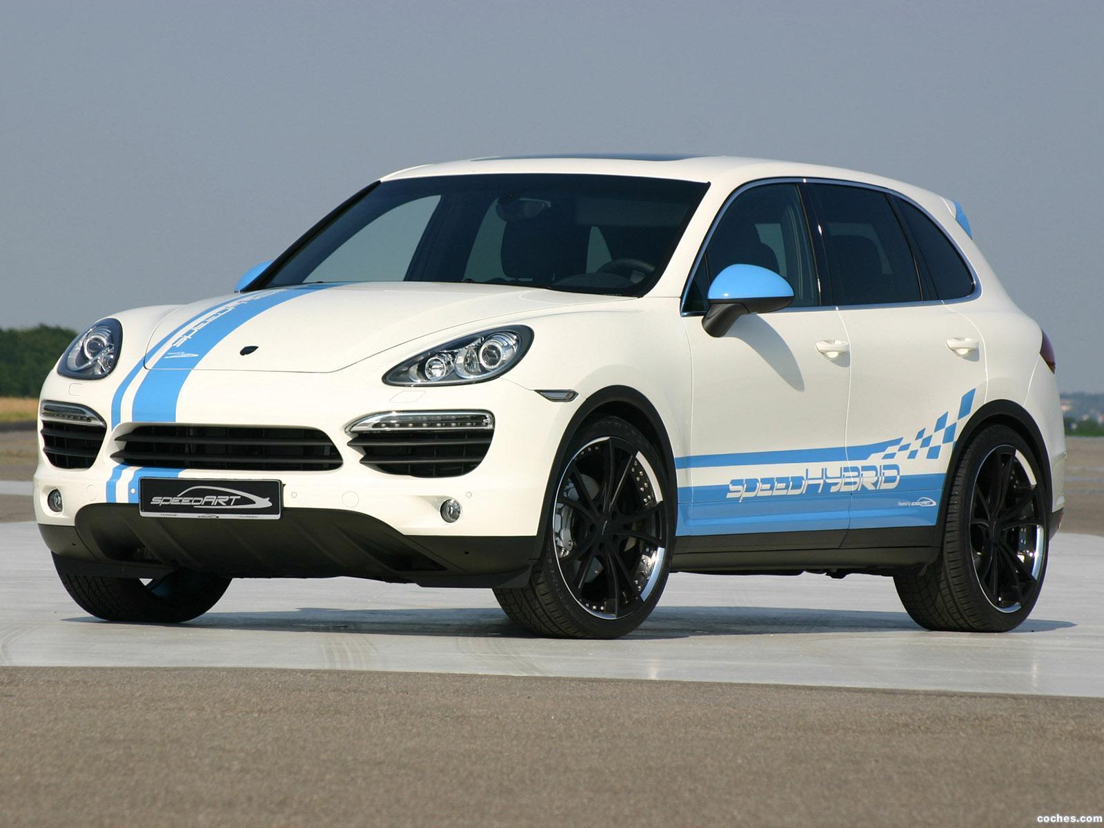 Foto 0 de Porsche speedart Cayenne Hybrid speedHYBRID 450 2010