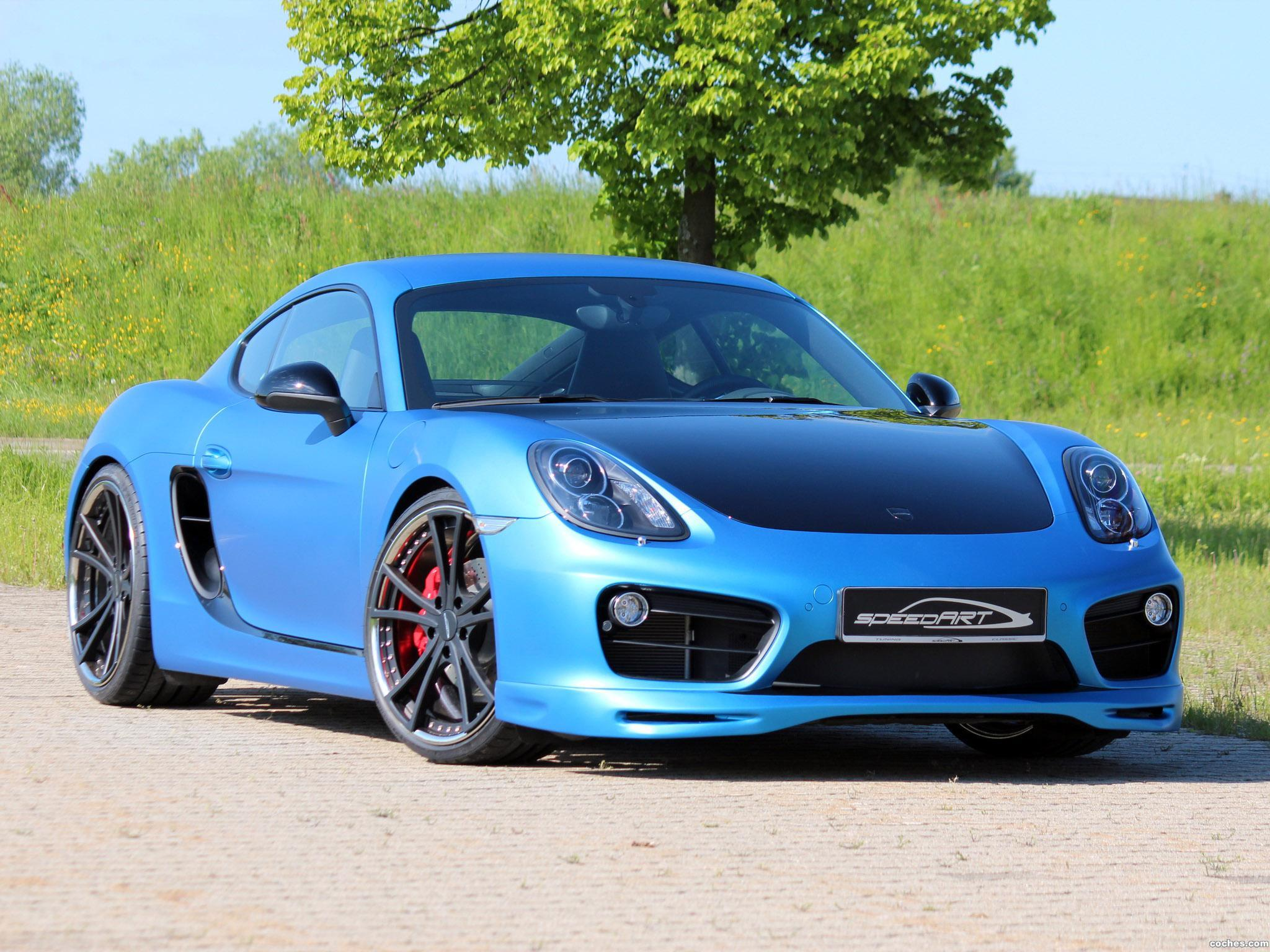 Foto 7 de Speedart Porsche Cayman SP81 CR 981C 2013