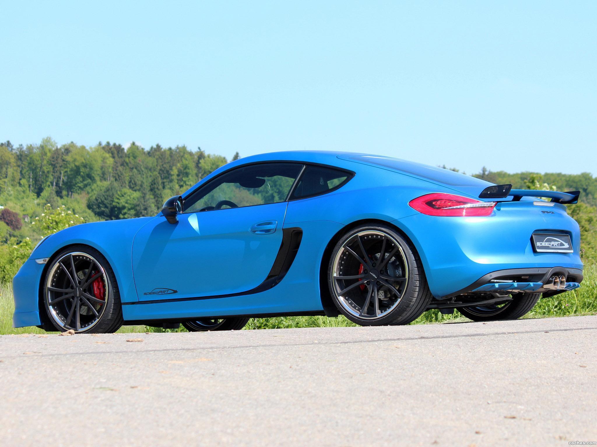 Foto 3 de Speedart Porsche Cayman SP81 CR 981C 2013