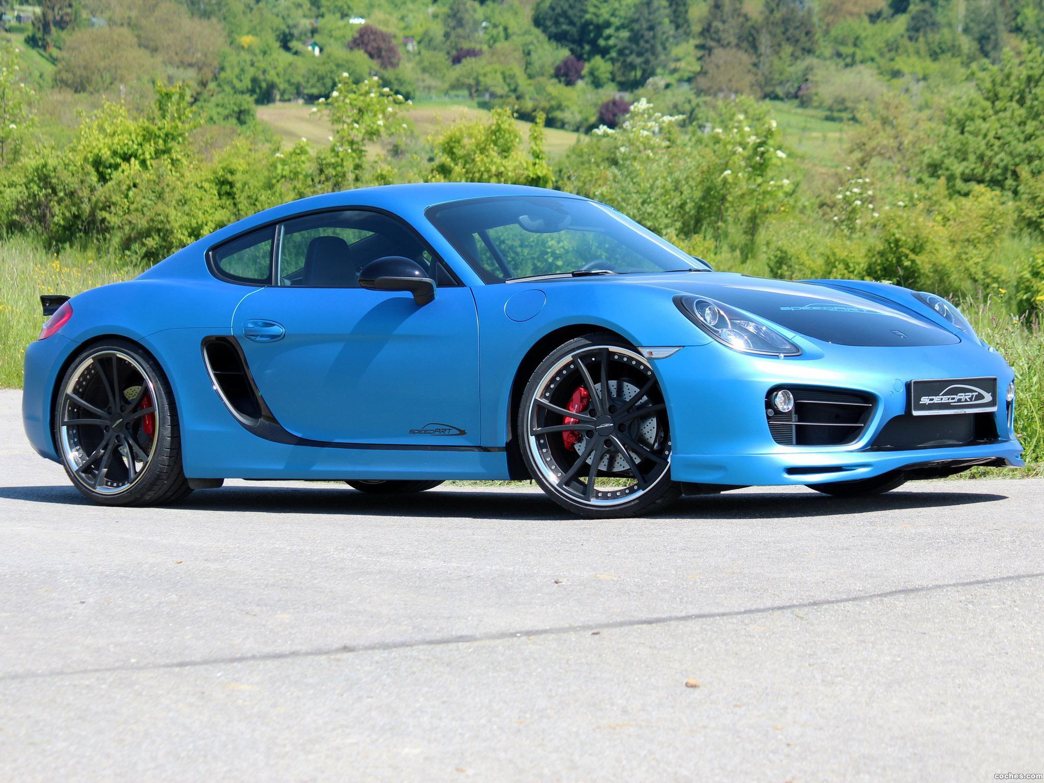 Foto 2 de Speedart Porsche Cayman SP81 CR 981C 2013