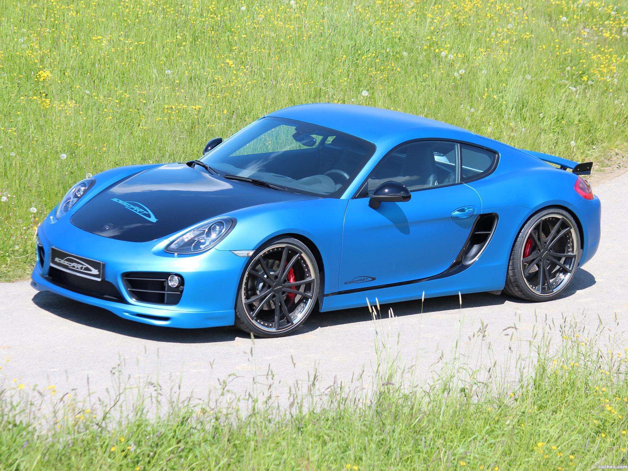 Foto 1 de Speedart Porsche Cayman SP81 CR 981C 2013