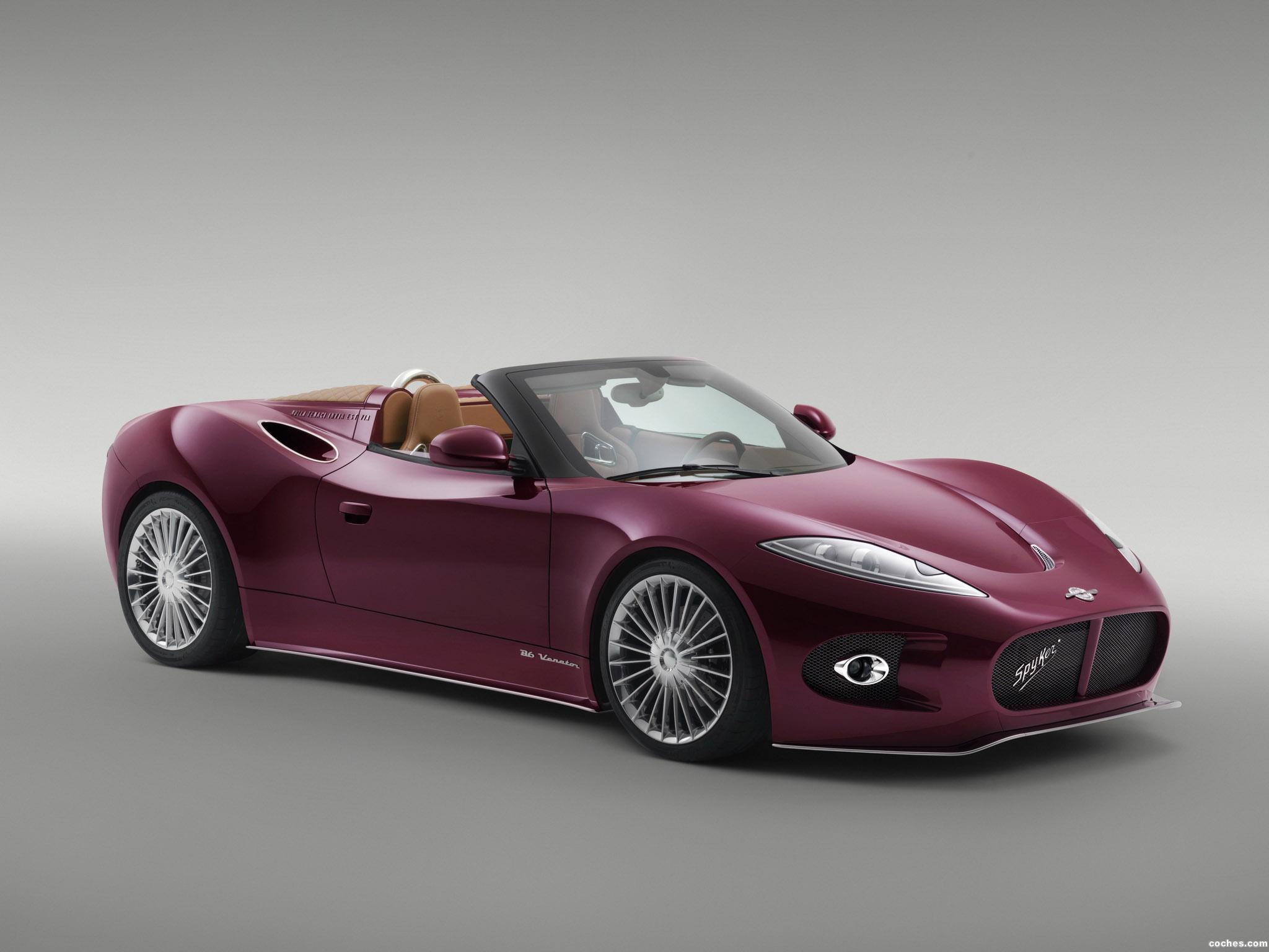 Foto 0 de Spyker B6 Venator Spyder Concept 2013