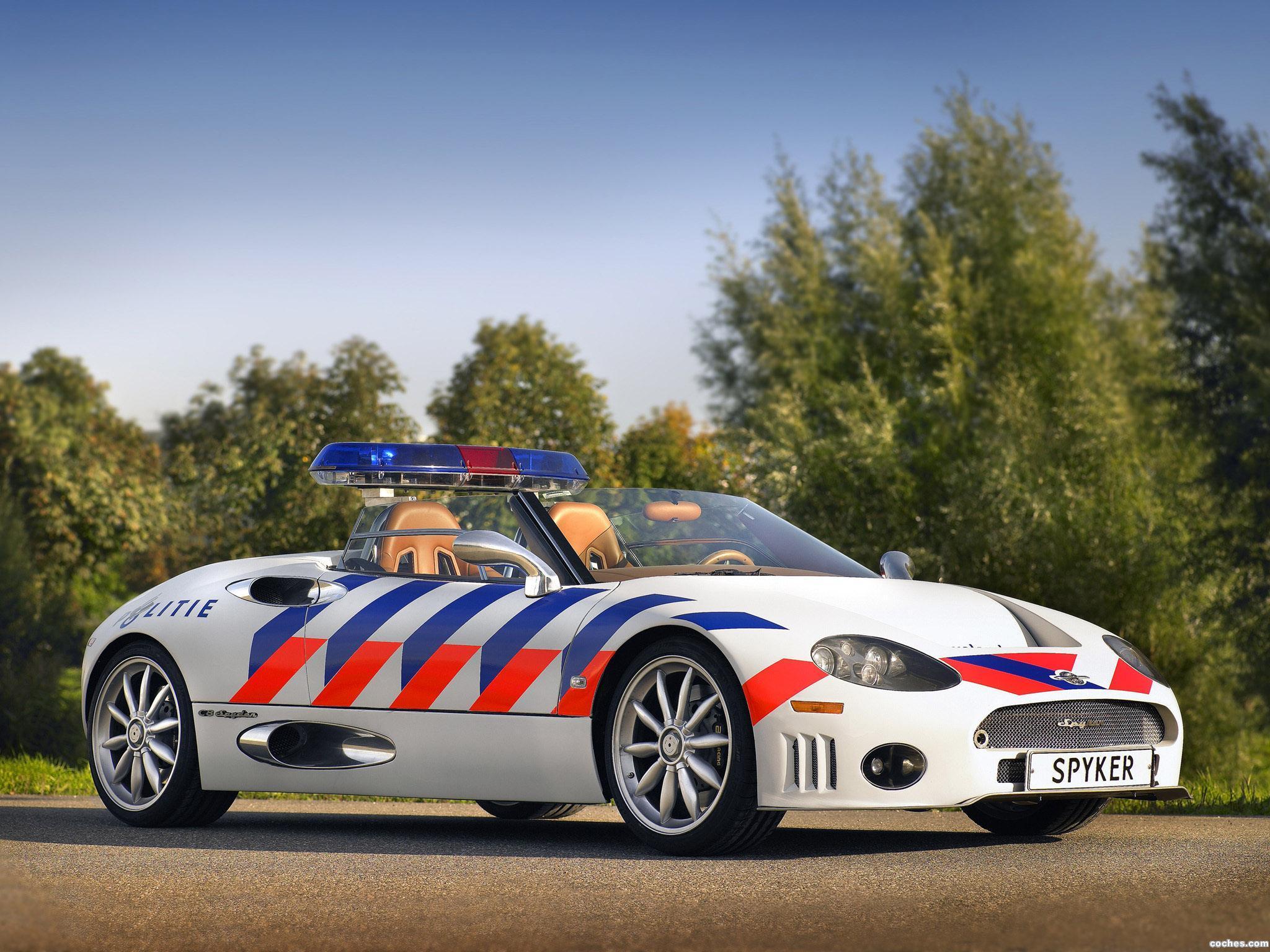Spyker C8 Policía Police Coche Car