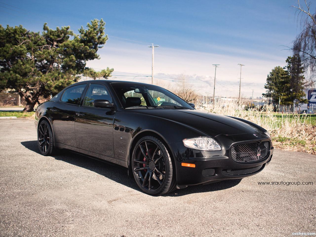 Foto 3 de SR Auto Maserati Quattroporte Project Black Diamond 2013