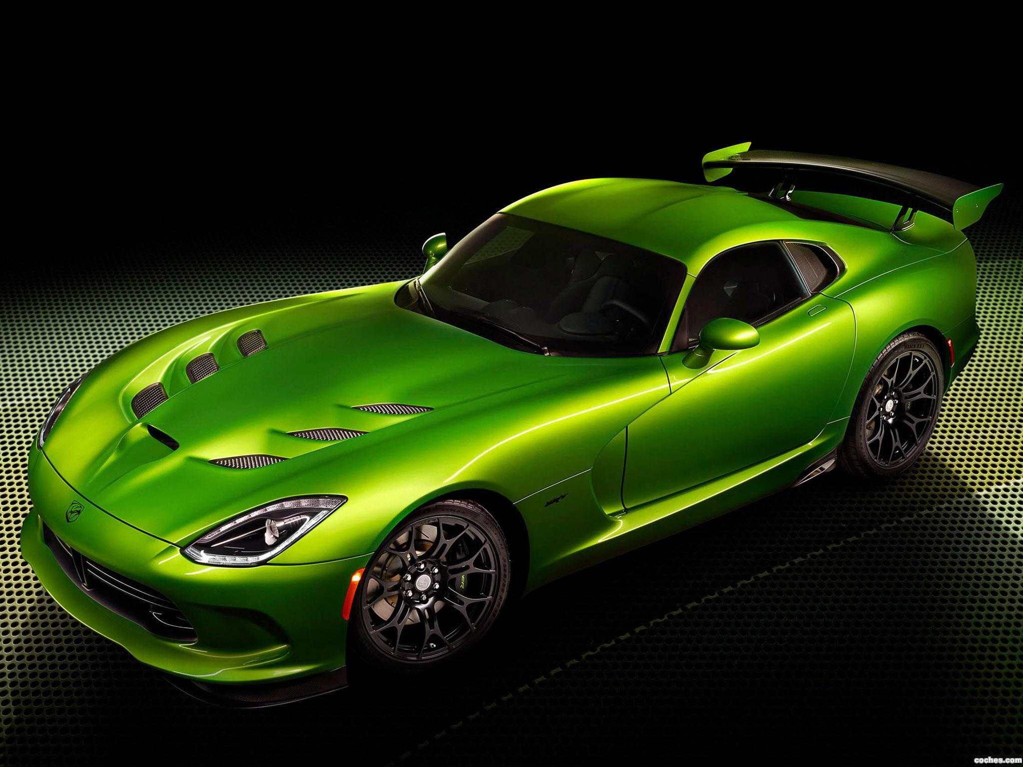 Foto 0 de Dodge SRT Viper GT Stryker Green 2014