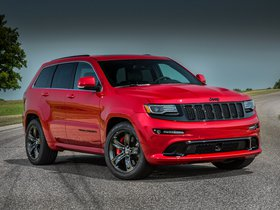 Ver foto 5 de Jeep SRT Grand Cherokee Red Vapor WK2 2014