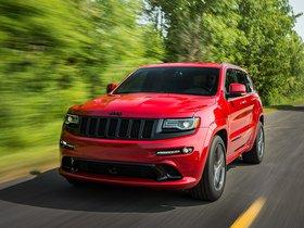 Ver foto 2 de Jeep SRT Grand Cherokee Red Vapor WK2 2014