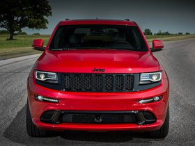 Fotos de Jeep SRT Grand Cherokee Red Vapor WK2 2014