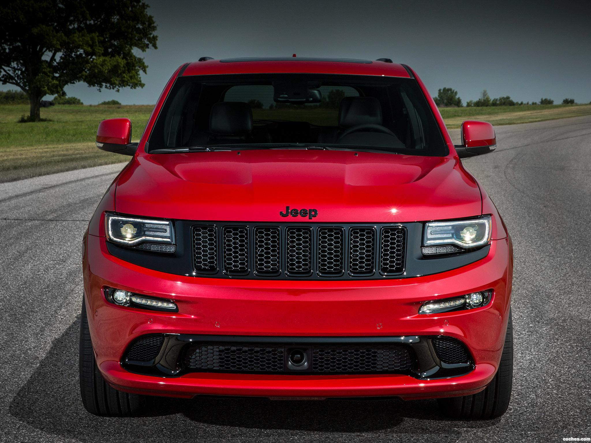 Foto 0 de Jeep SRT Grand Cherokee Red Vapor WK2 2014