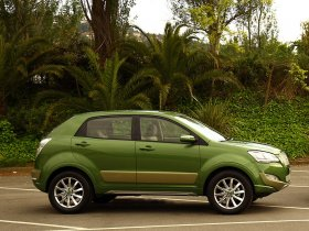 Ver foto 3 de Ssangyong C200 Eco Hybrid Concept 2009