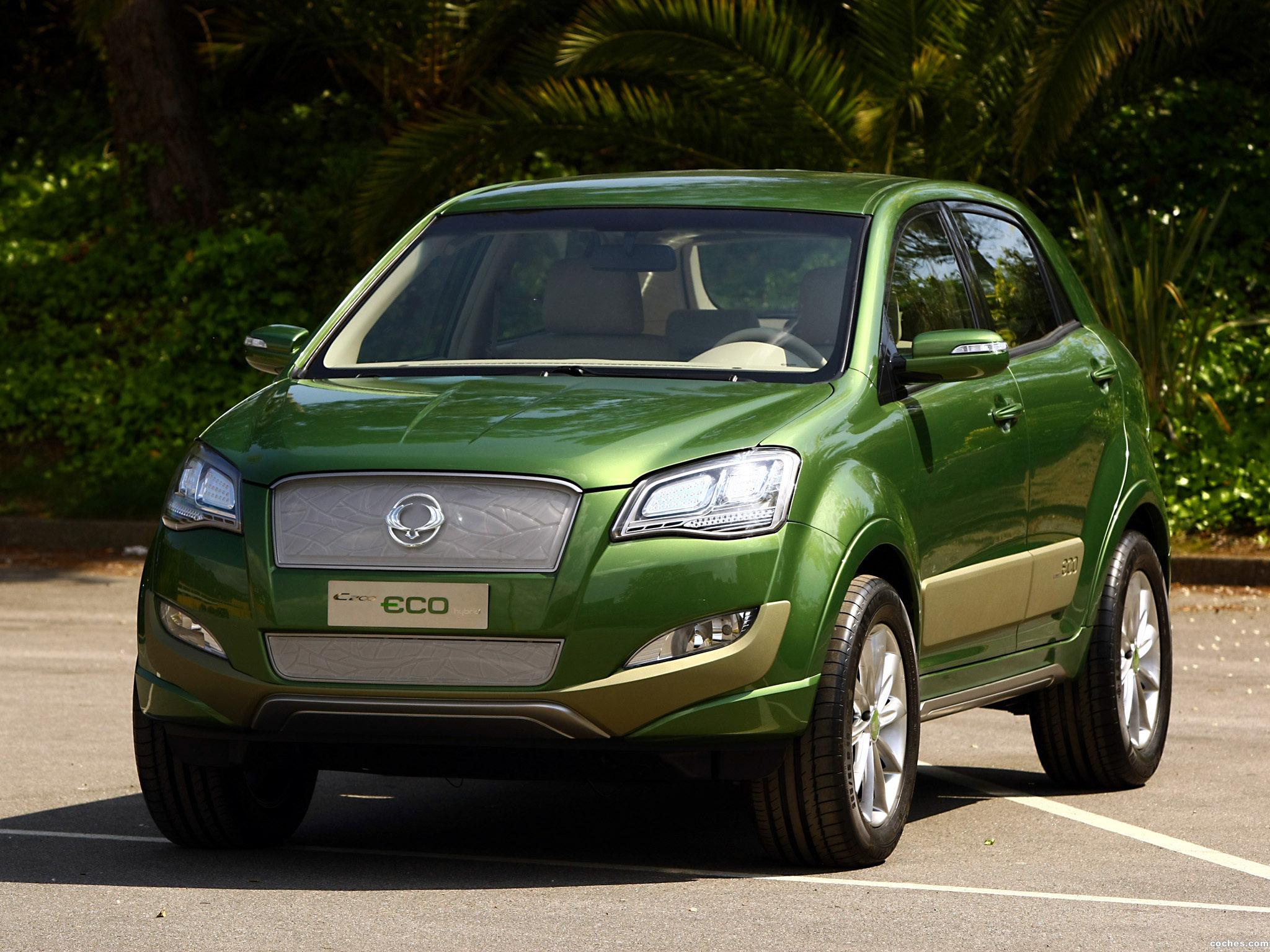 Foto 0 de Ssangyong C200 Eco Hybrid Concept 2009
