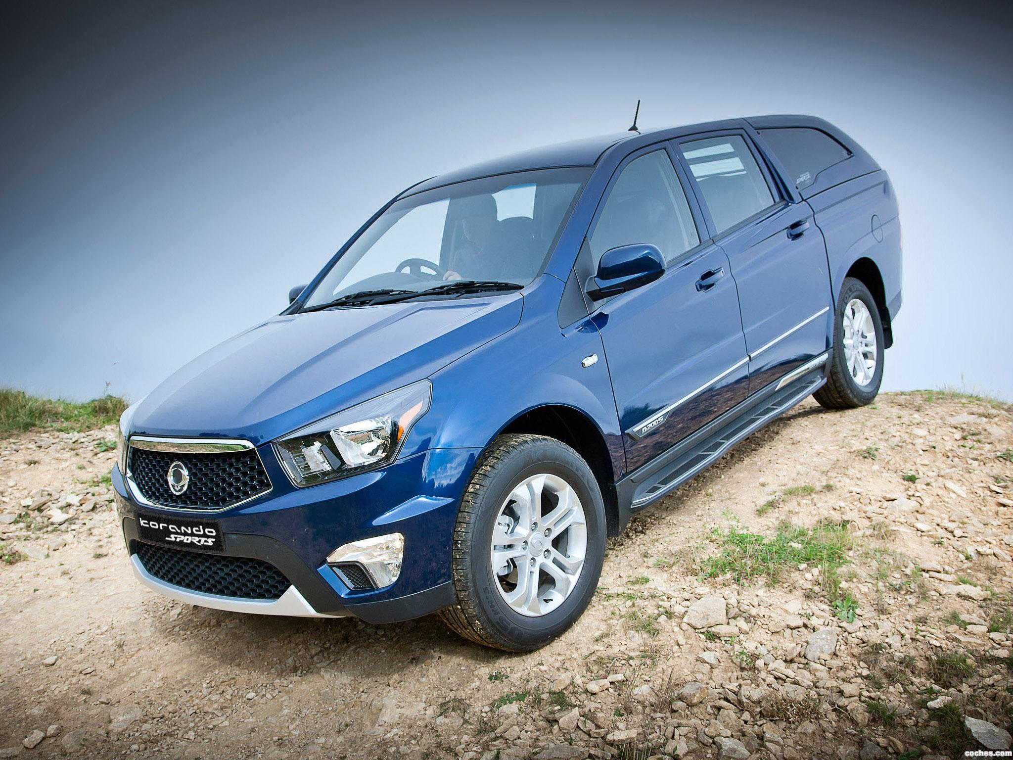 Foto 0 de Ssangyong Korando Sports UK  2012