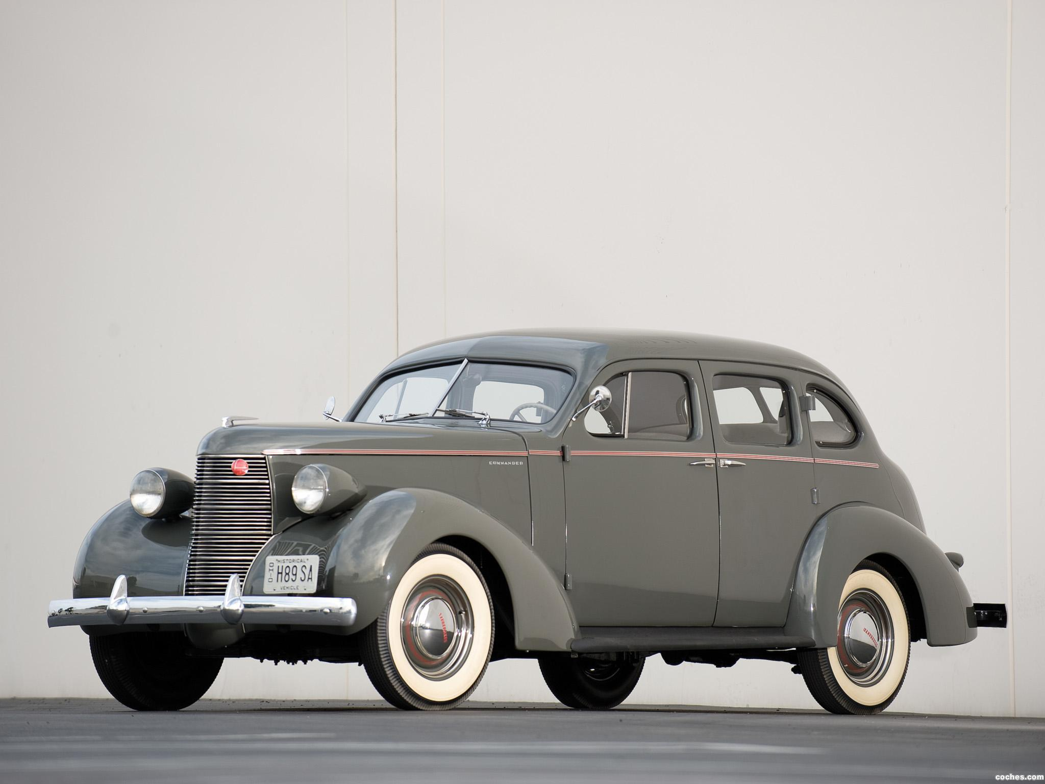 Foto 0 de Studebaker Commander Six Cruising Sedan 1938