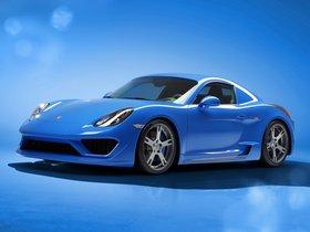 Fotos de Porsche Studiotorino Cayman Moncenisio 2014