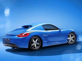 Ver foto 10 de Porsche Studiotorino Cayman Moncenisio 2014