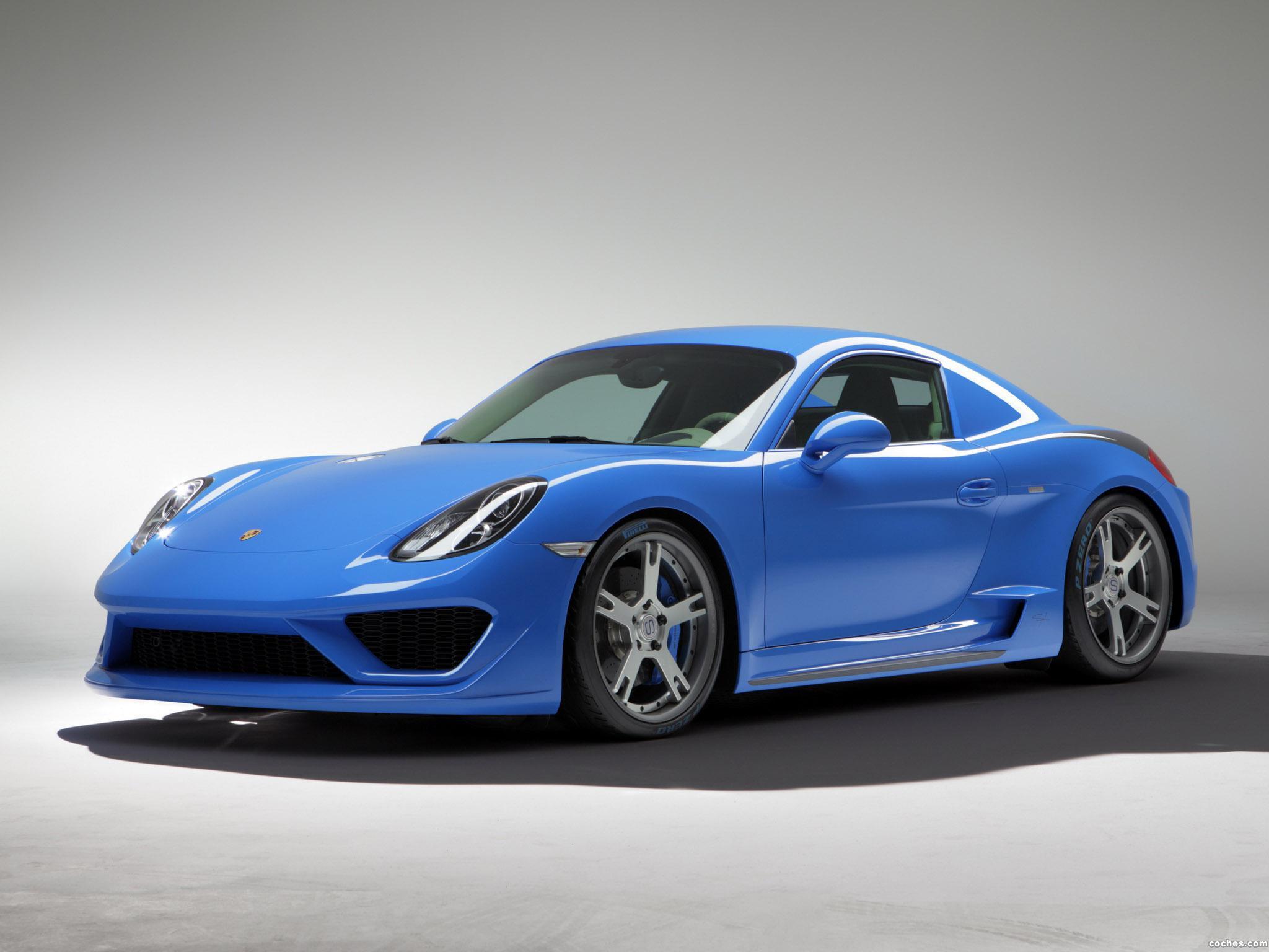 Foto 2 de Porsche Studiotorino Cayman Moncenisio 2014