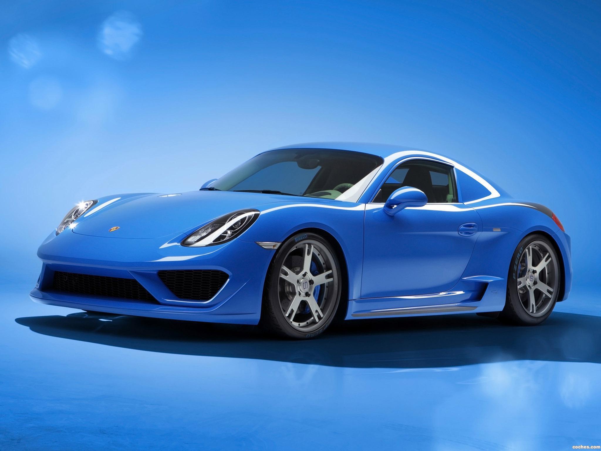 Foto 0 de Porsche Studiotorino Cayman Moncenisio 2014