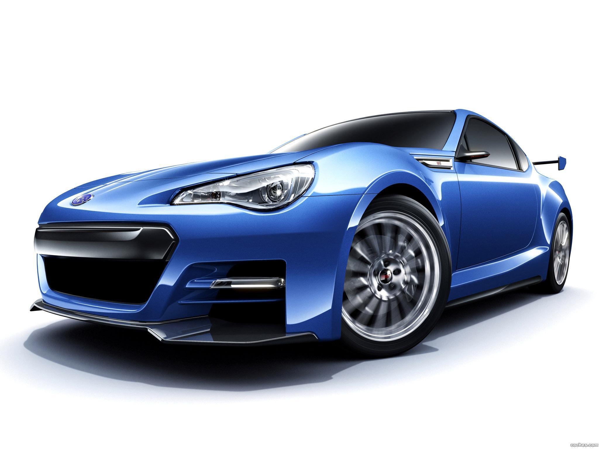 Foto 0 de Subaru BRZ Concept STi 2011