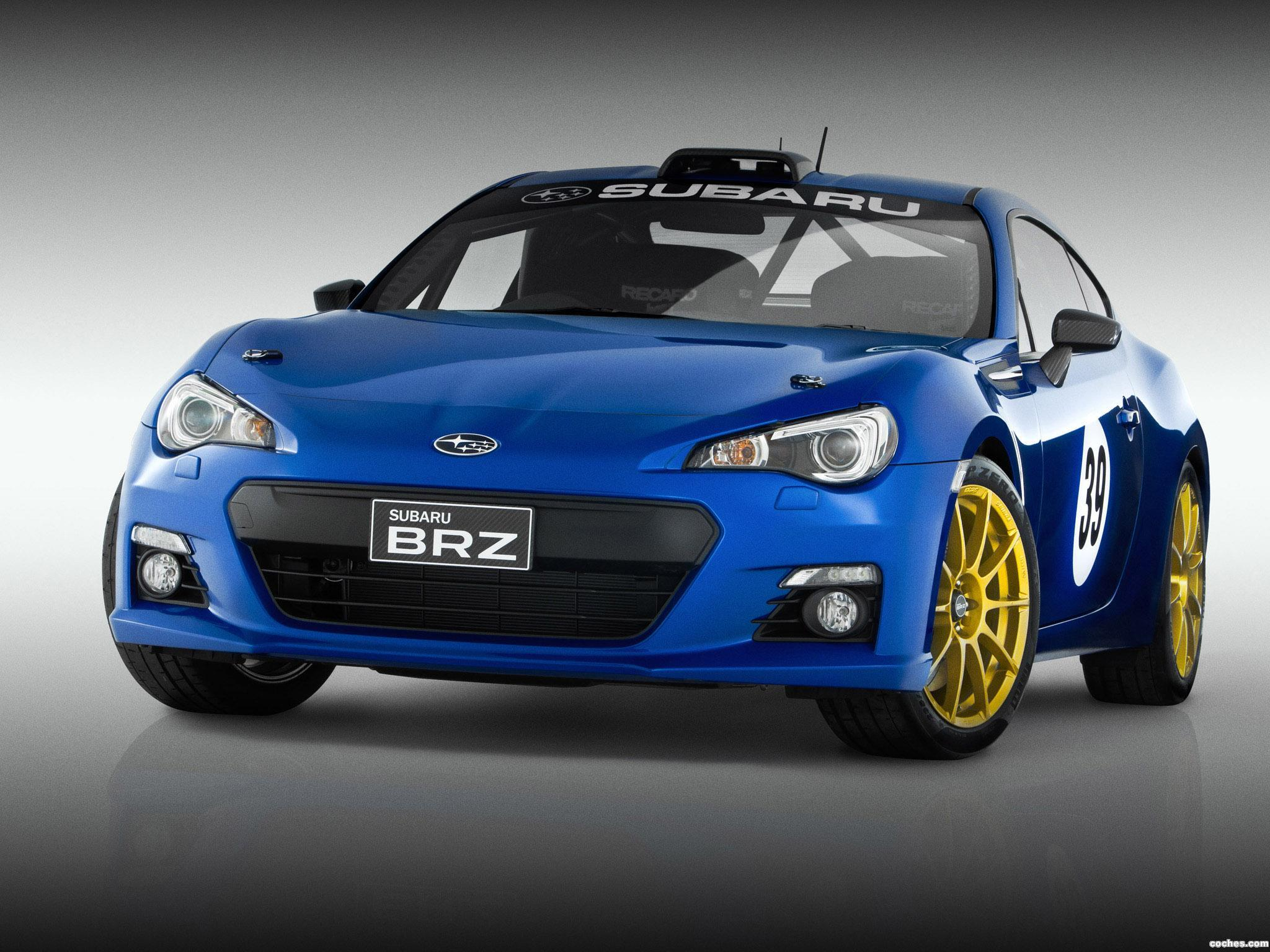 Foto 0 de Subaru BRZ Project Car Possum Bourne Motorsport 2012