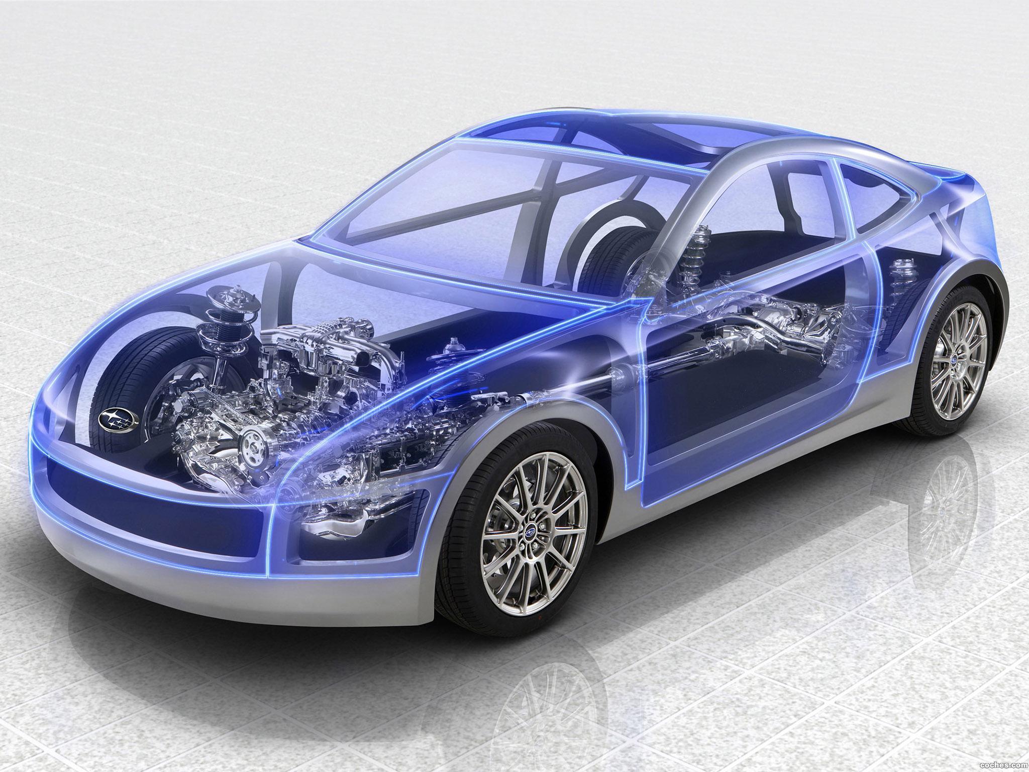 Foto 0 de Subaru Boxer Sports Car Architecture 2011