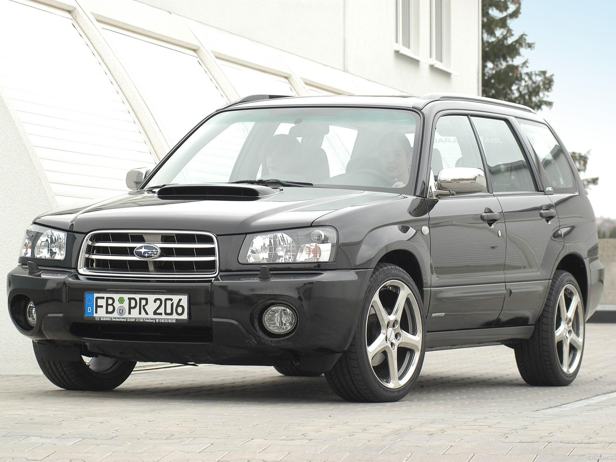 Foto 2 de Subaru Forester Rinspeed Edition 2003