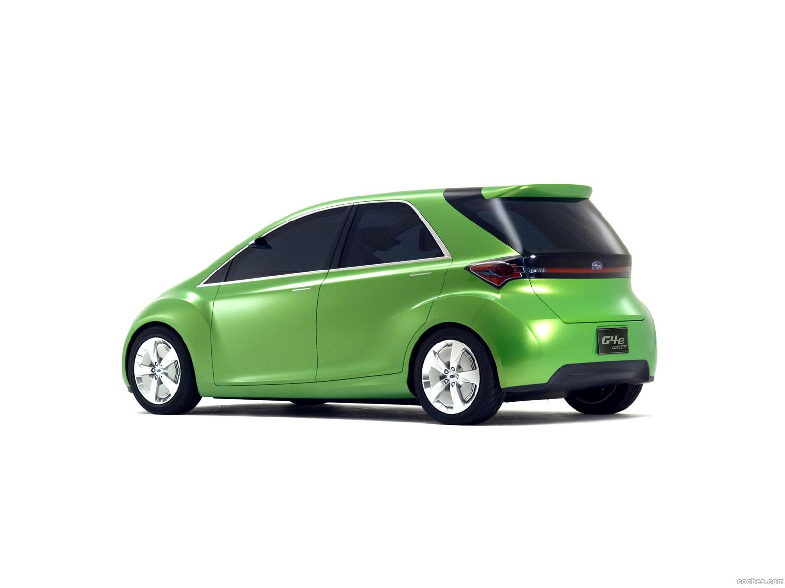 Foto 1 de Subaru G4E Concept 2007
