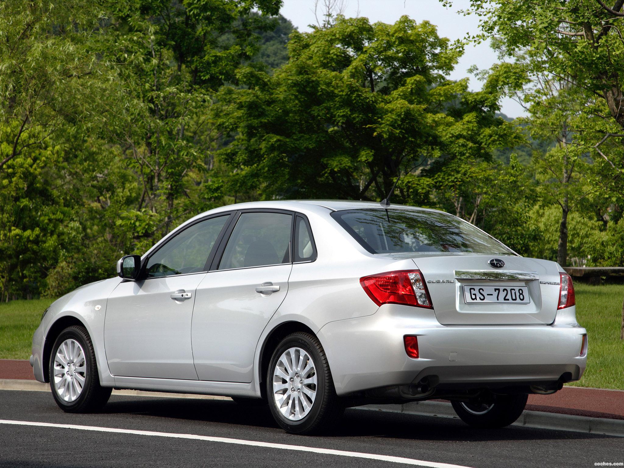 Foto 9 de Subaru Impreza 2.0R Sedan 2008