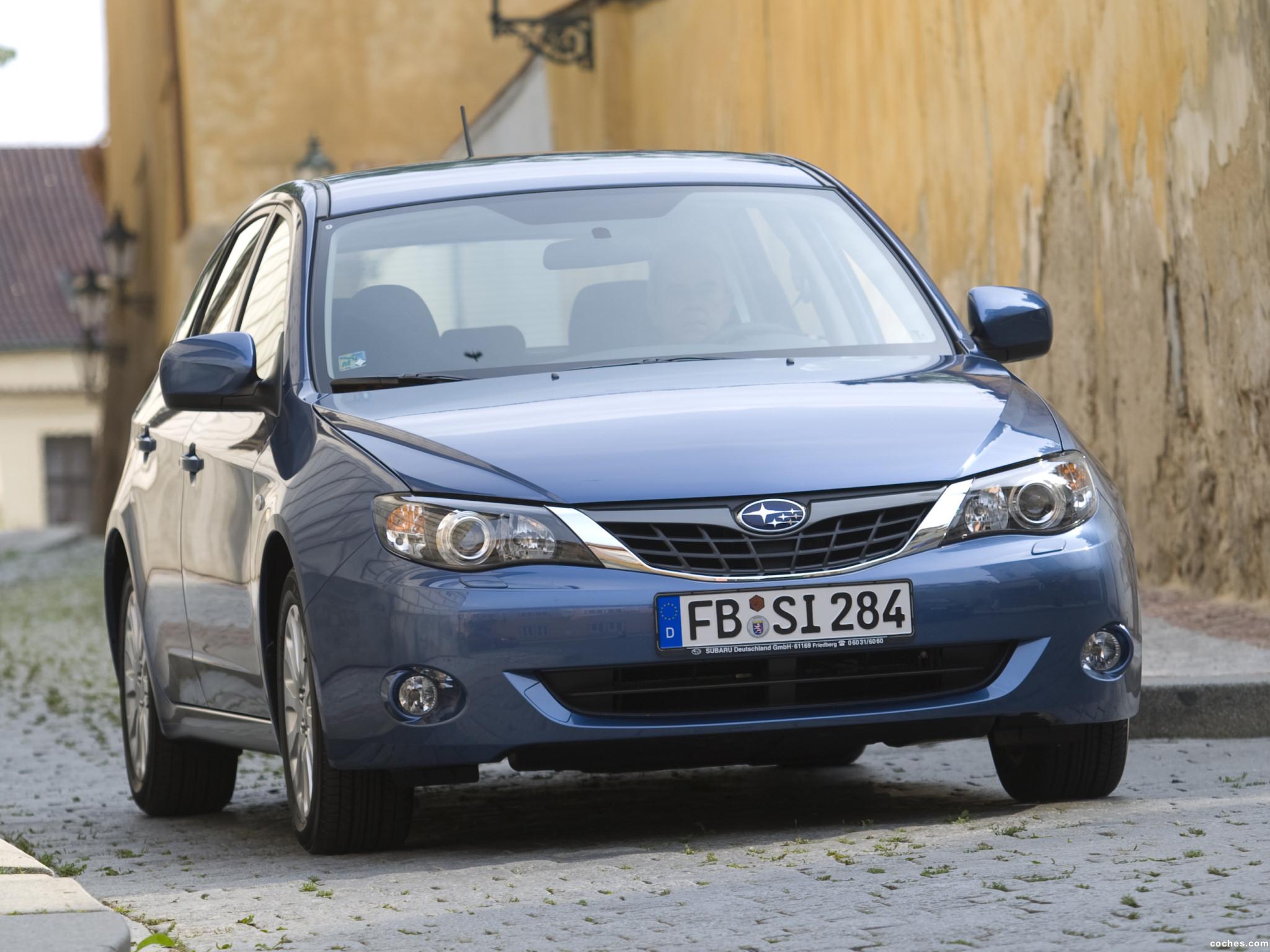 Foto 0 de Subaru Impreza 5 puertas 2008