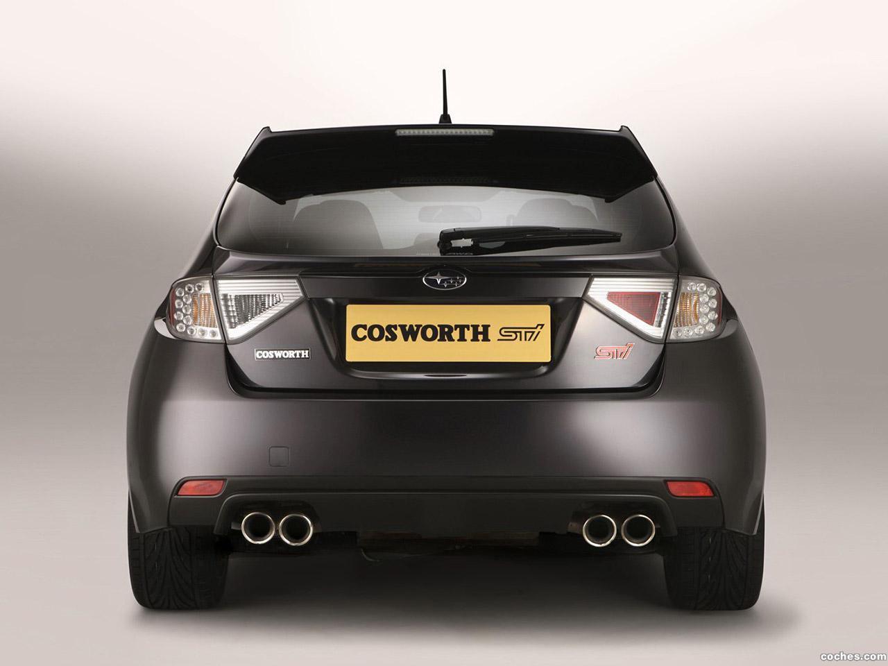 Foto 3 de Subaru Impreza Cosworth STi CS400 UK 2010