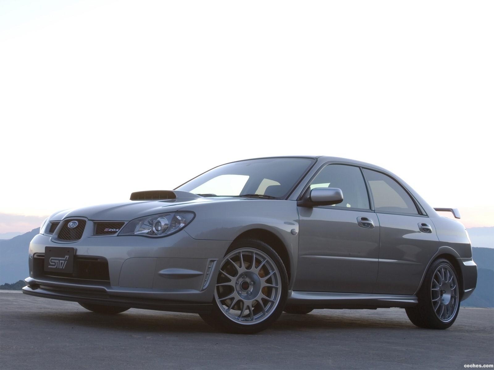 Foto 5 de Subaru Impreza STi S204 2006