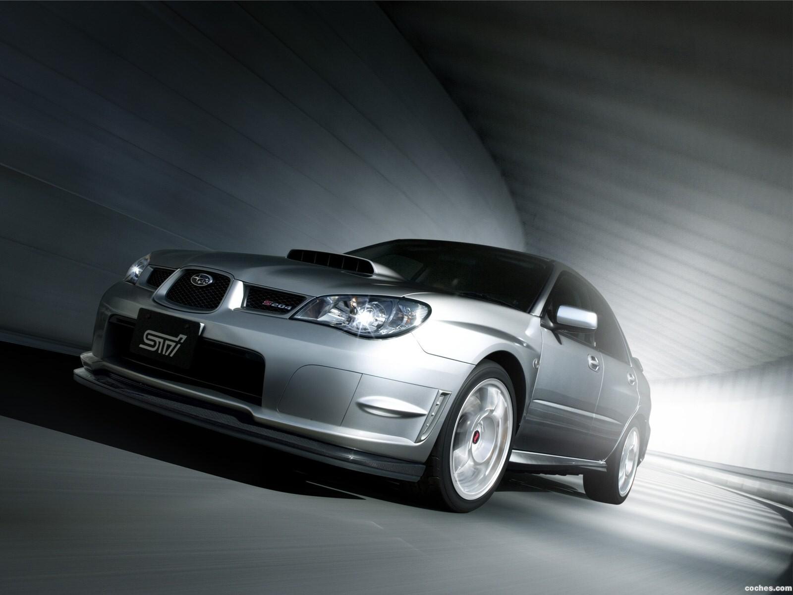 Foto 3 de Subaru Impreza STi S204 2006
