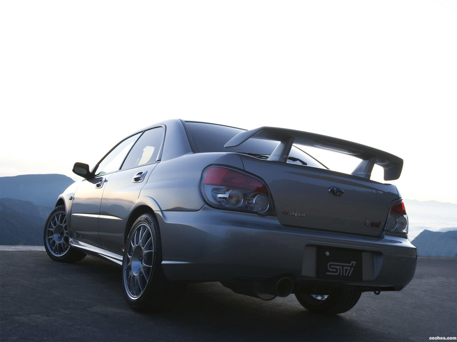 Foto 1 de Subaru Impreza STi S204 2006
