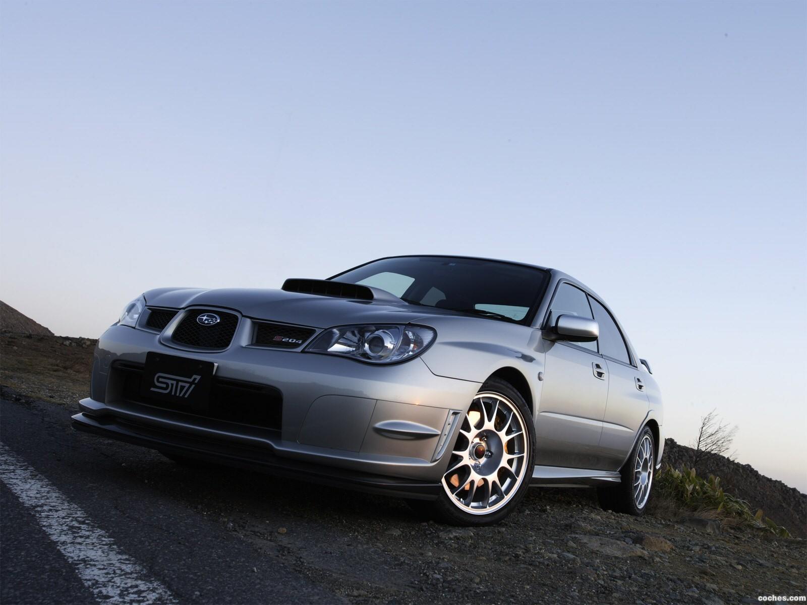 Foto 0 de Subaru Impreza STi S204 2006