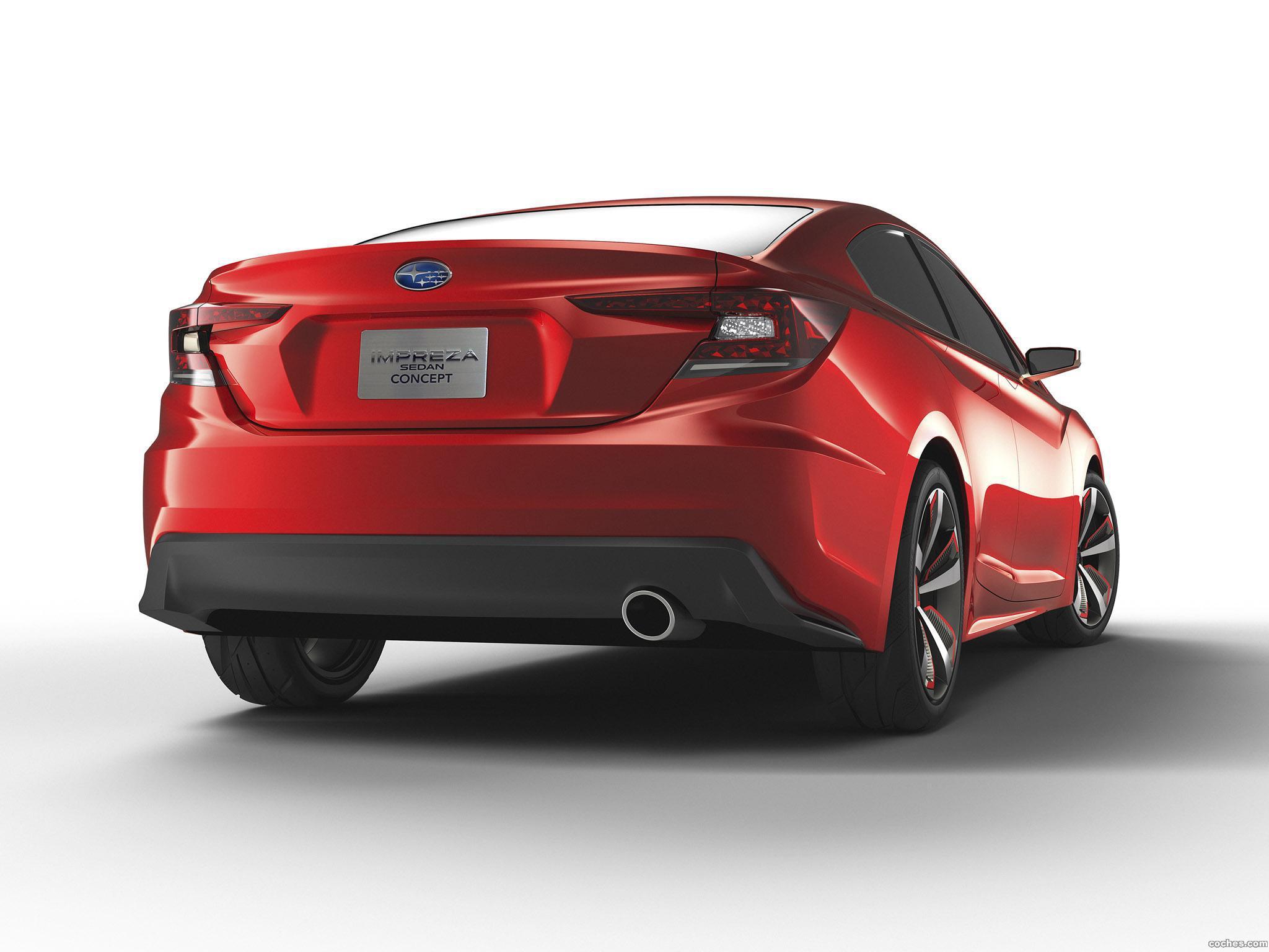Foto 4 de Subaru Impreza Sedan Concept 2015