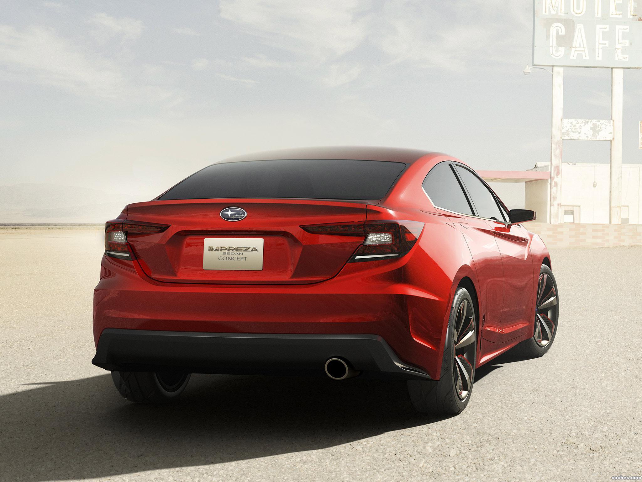 Foto 3 de Subaru Impreza Sedan Concept 2015