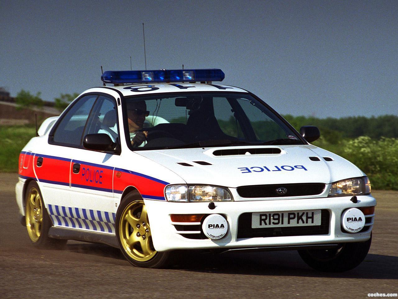 Foto 0 de Subaru Impreza Turbo Police 1996