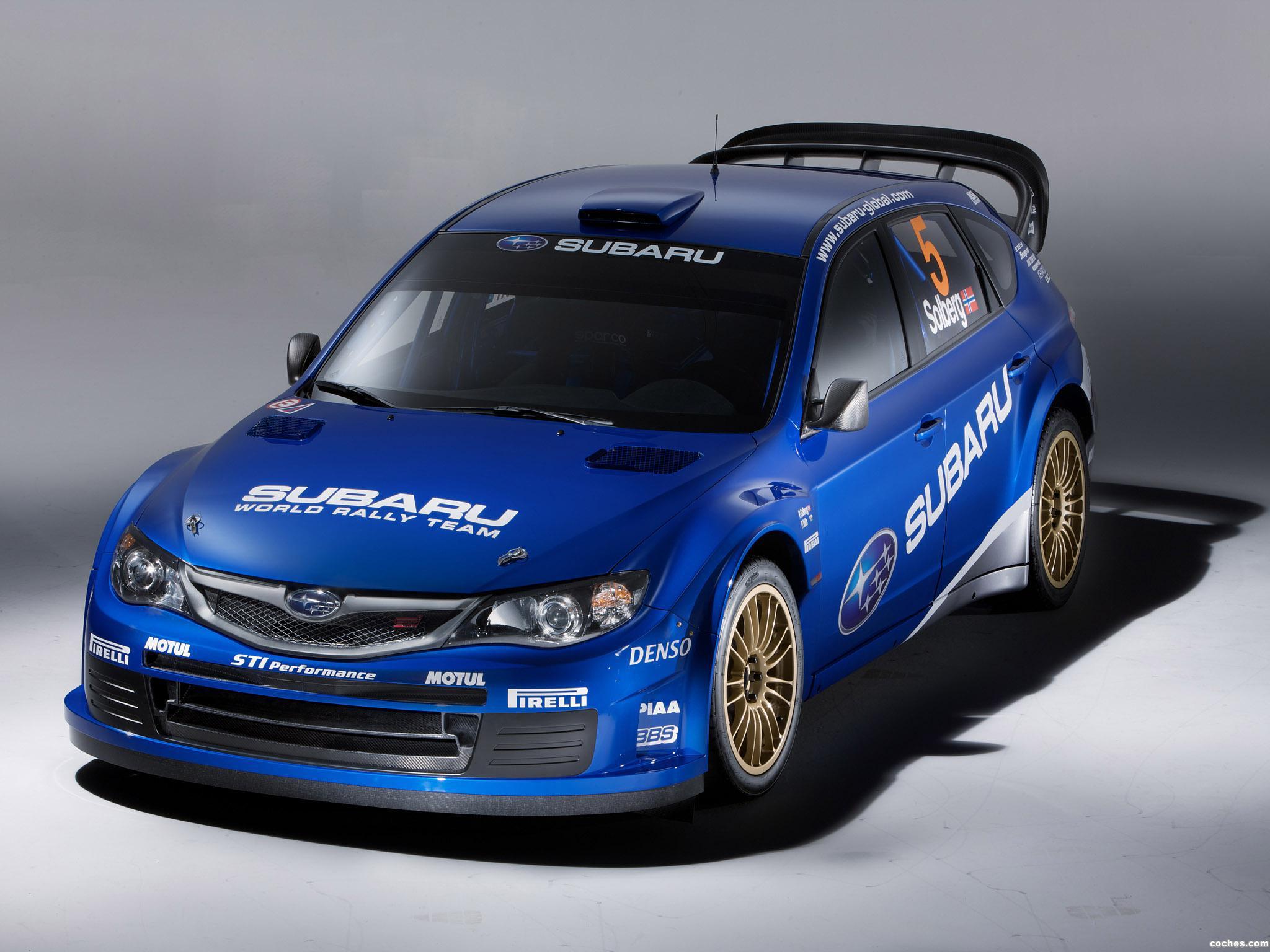 Foto 29 de Subaru Impreza WRC 2008