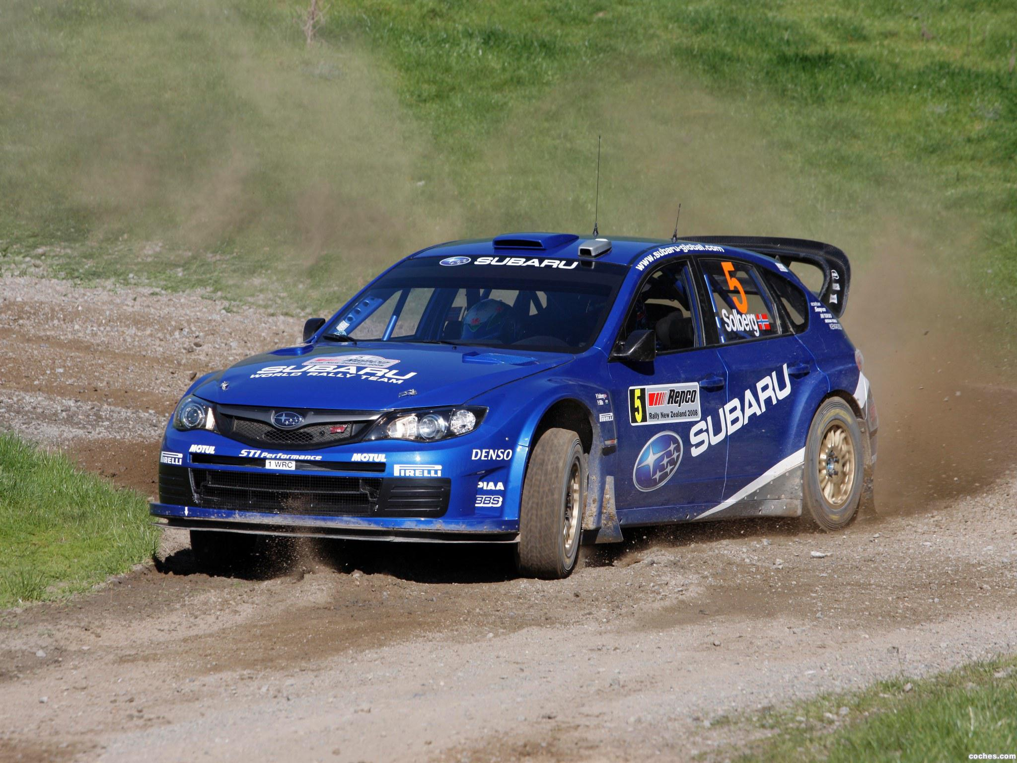 Foto 13 de Subaru Impreza WRC 2008