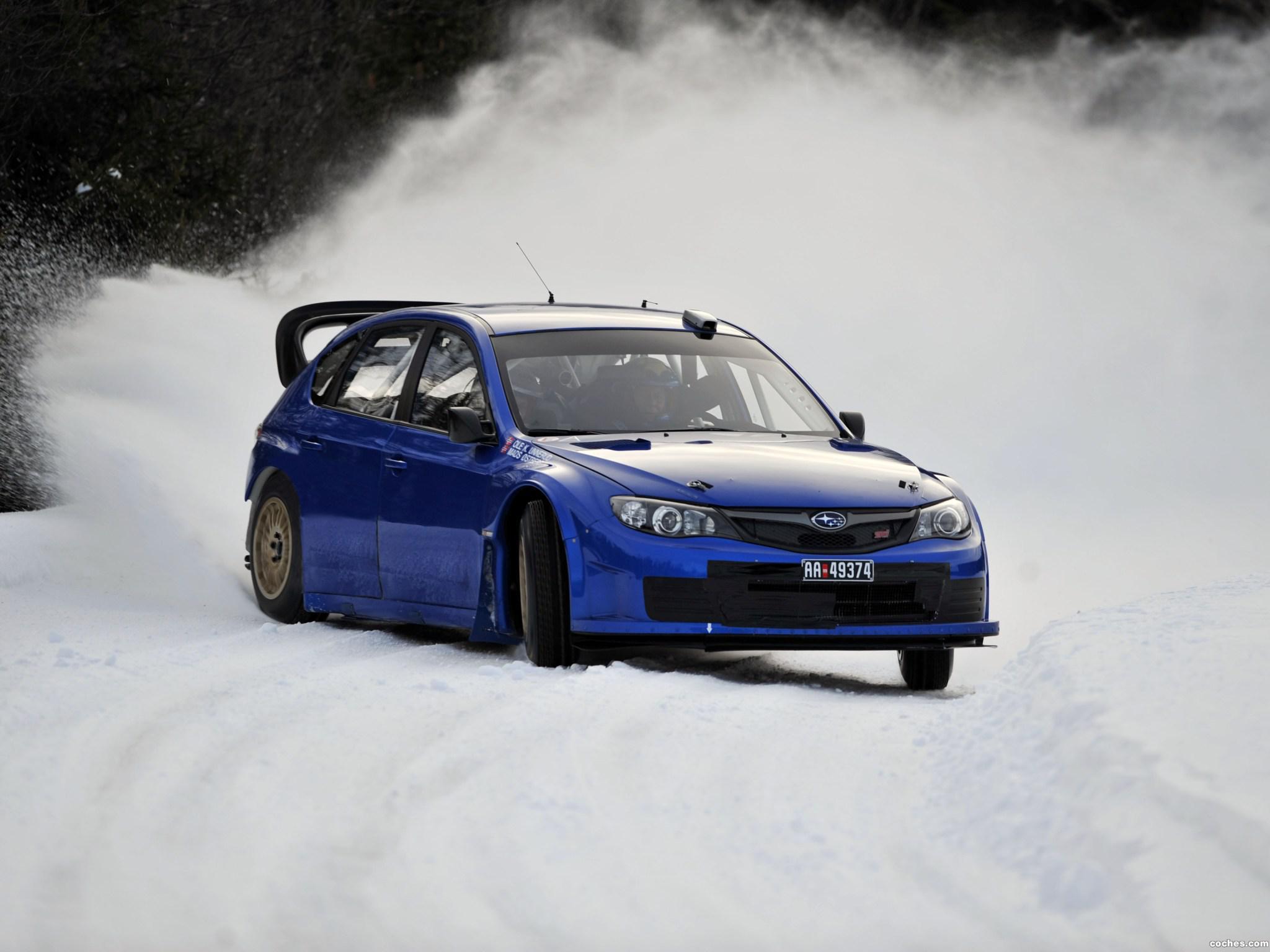 Foto 12 de Subaru Impreza WRC 2008
