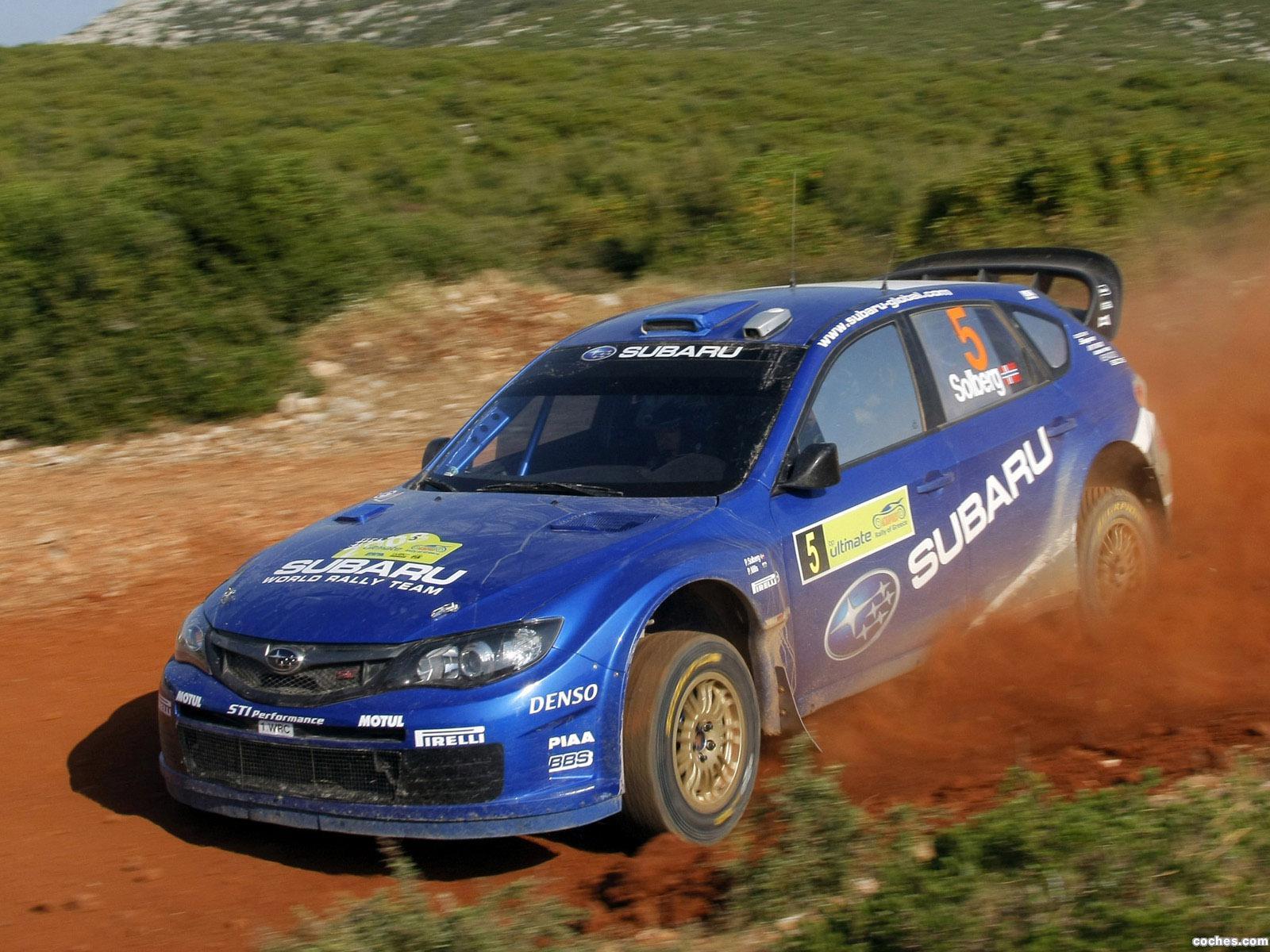 Foto 11 de Subaru Impreza WRC 2008