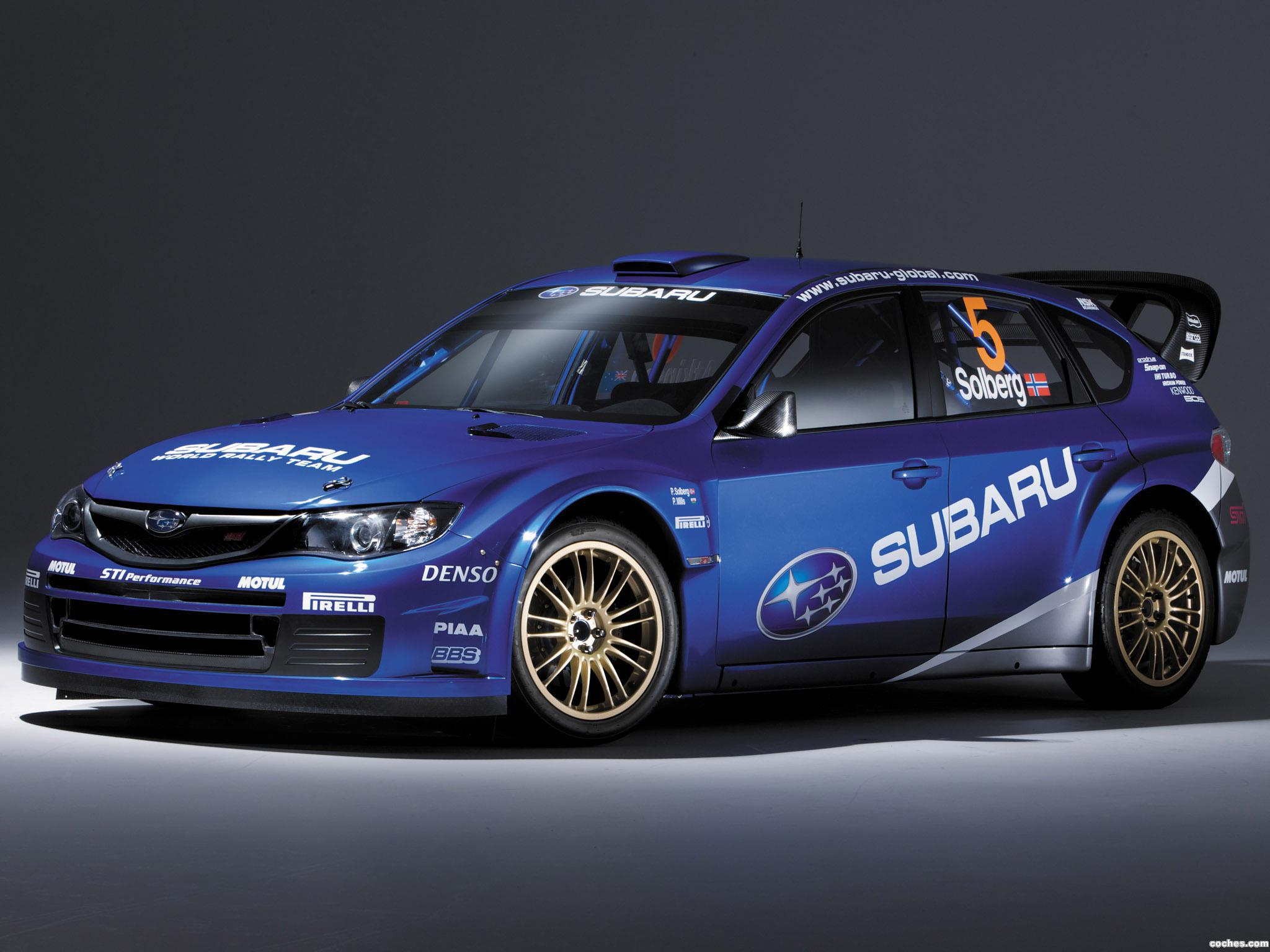Foto 10 de Subaru Impreza WRC 2008