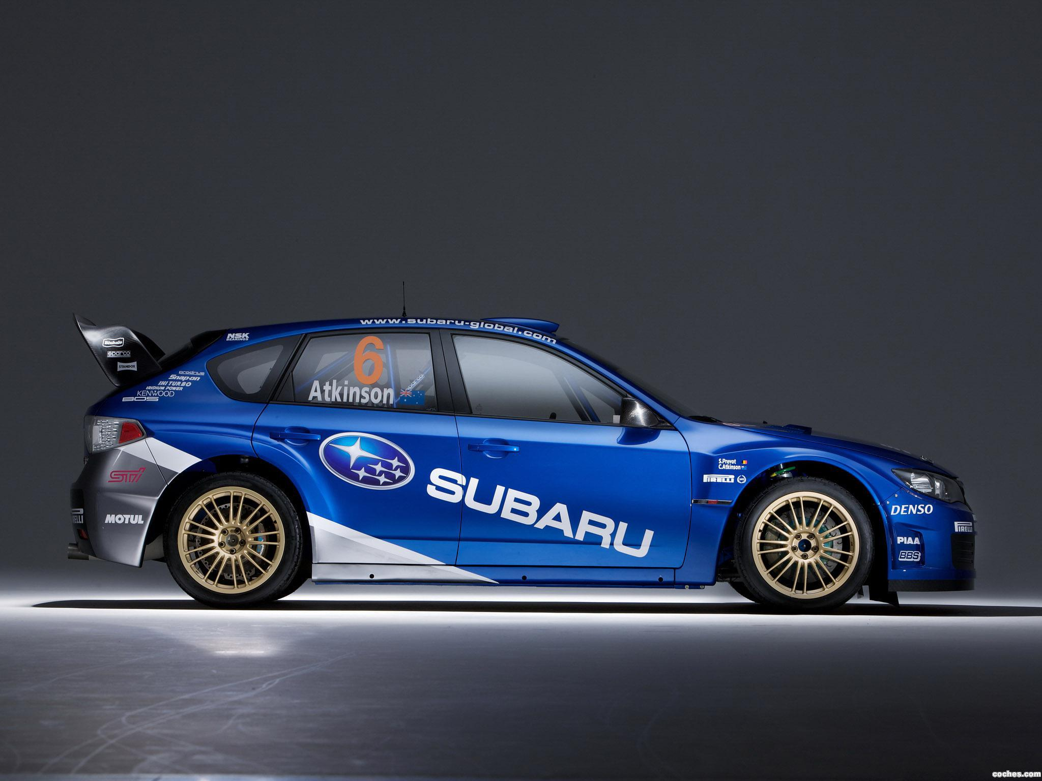 Foto 6 de Subaru Impreza WRC 2008