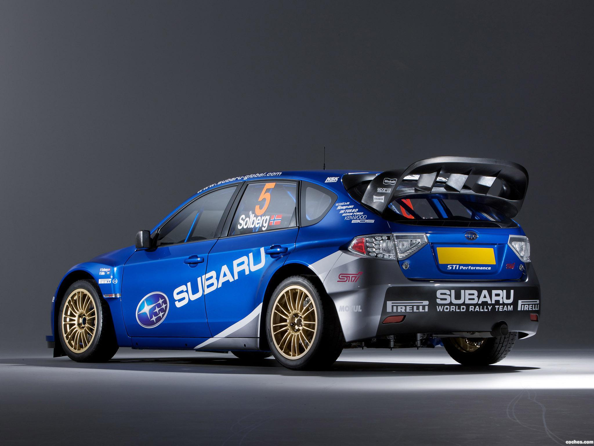 Foto 4 de Subaru Impreza WRC 2008