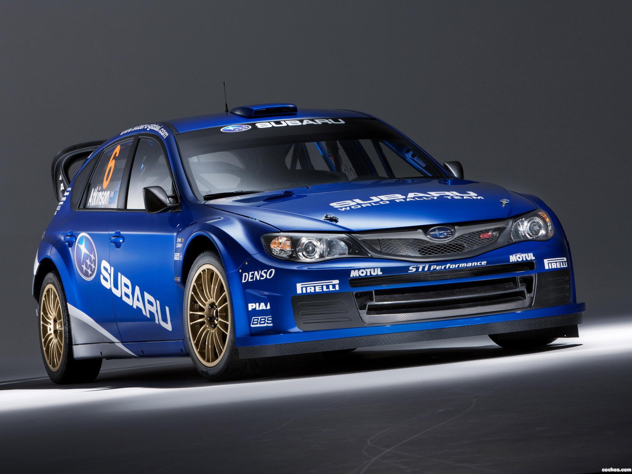 Foto 2 de Subaru Impreza WRC 2008