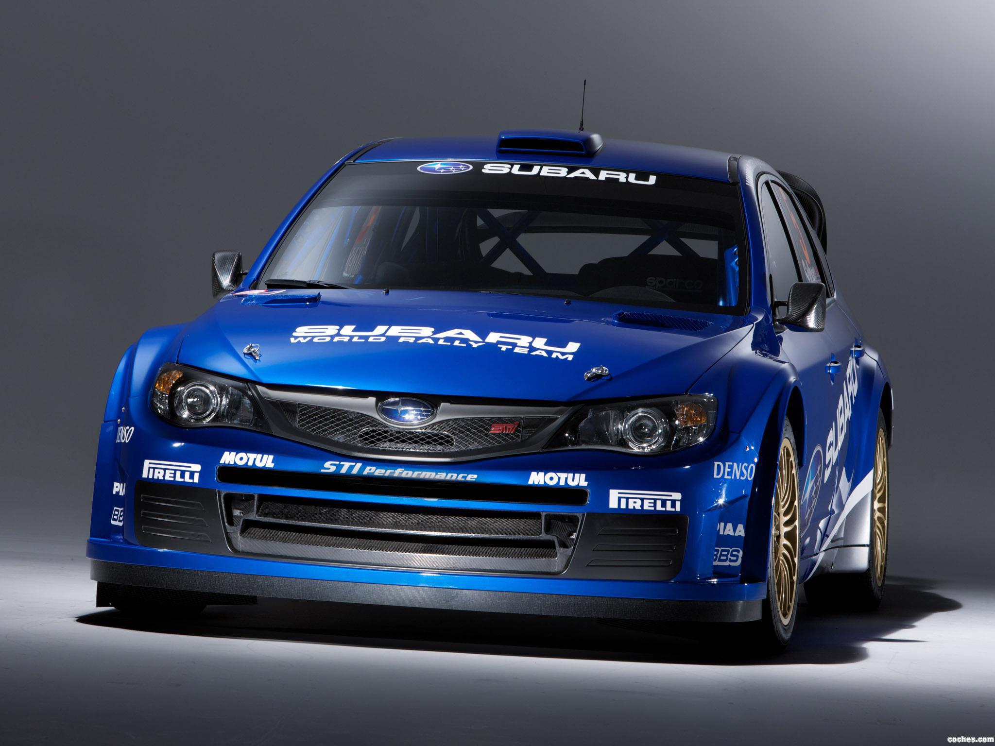 Foto 1 de Subaru Impreza WRC 2008