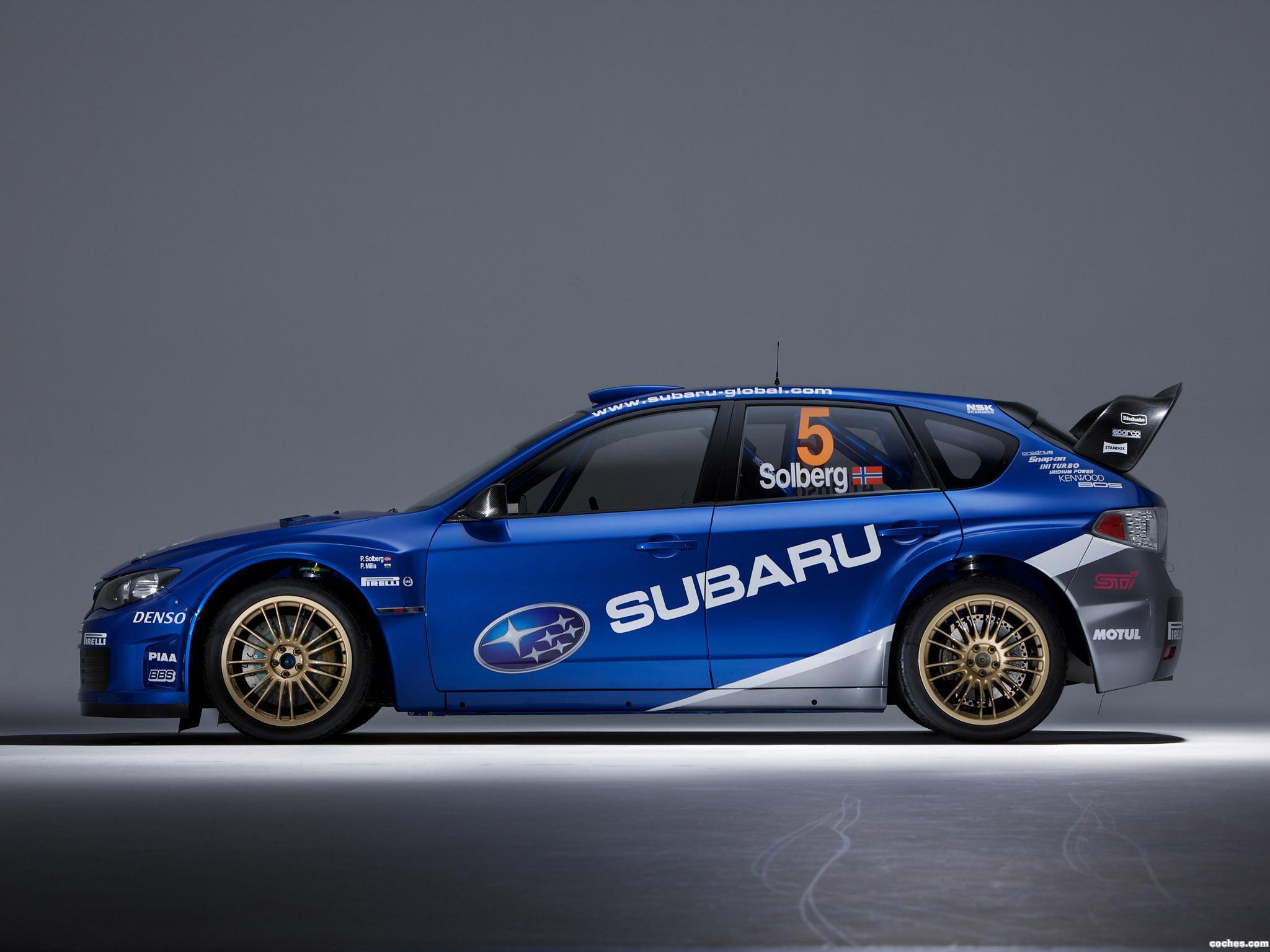 Foto 25 de Subaru Impreza WRC 2008